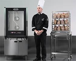 Процесс приготовления кур на UNOX ChefTop