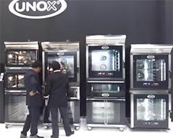 Компания Unox на выставке Host 2011 в Милане